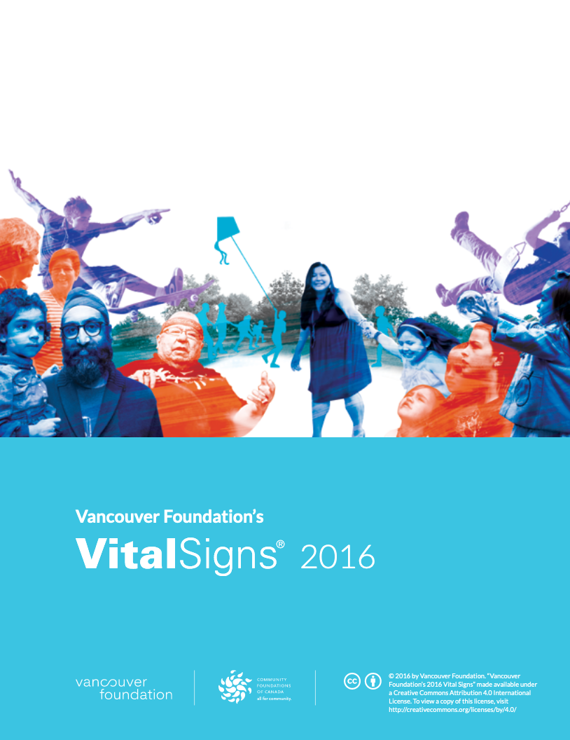 Vancouver Foundation Vital Signs 2016